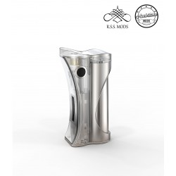 Ambition Mods Hera Box Mod 60w - Clear Frosted - Singola Batteria