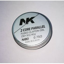 nk wire 6x parallel prebuild ni 80- 0.75