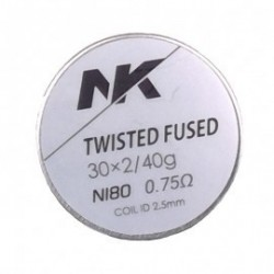 nk wire 6x Twisted Fused Ni80 - 0.75 ohm